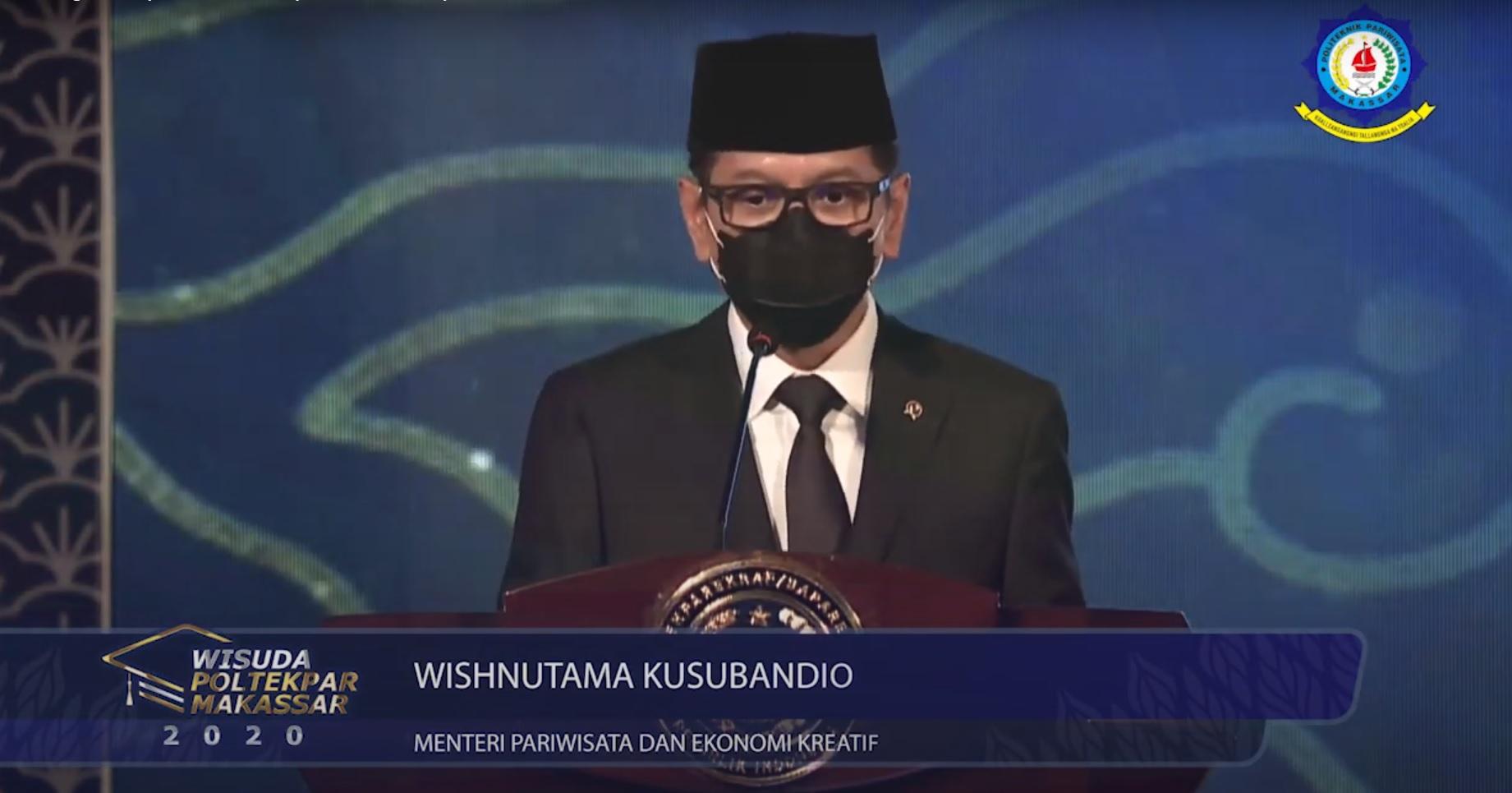 Wisuda ke-XIX Politeknik Pariwisata Makassar